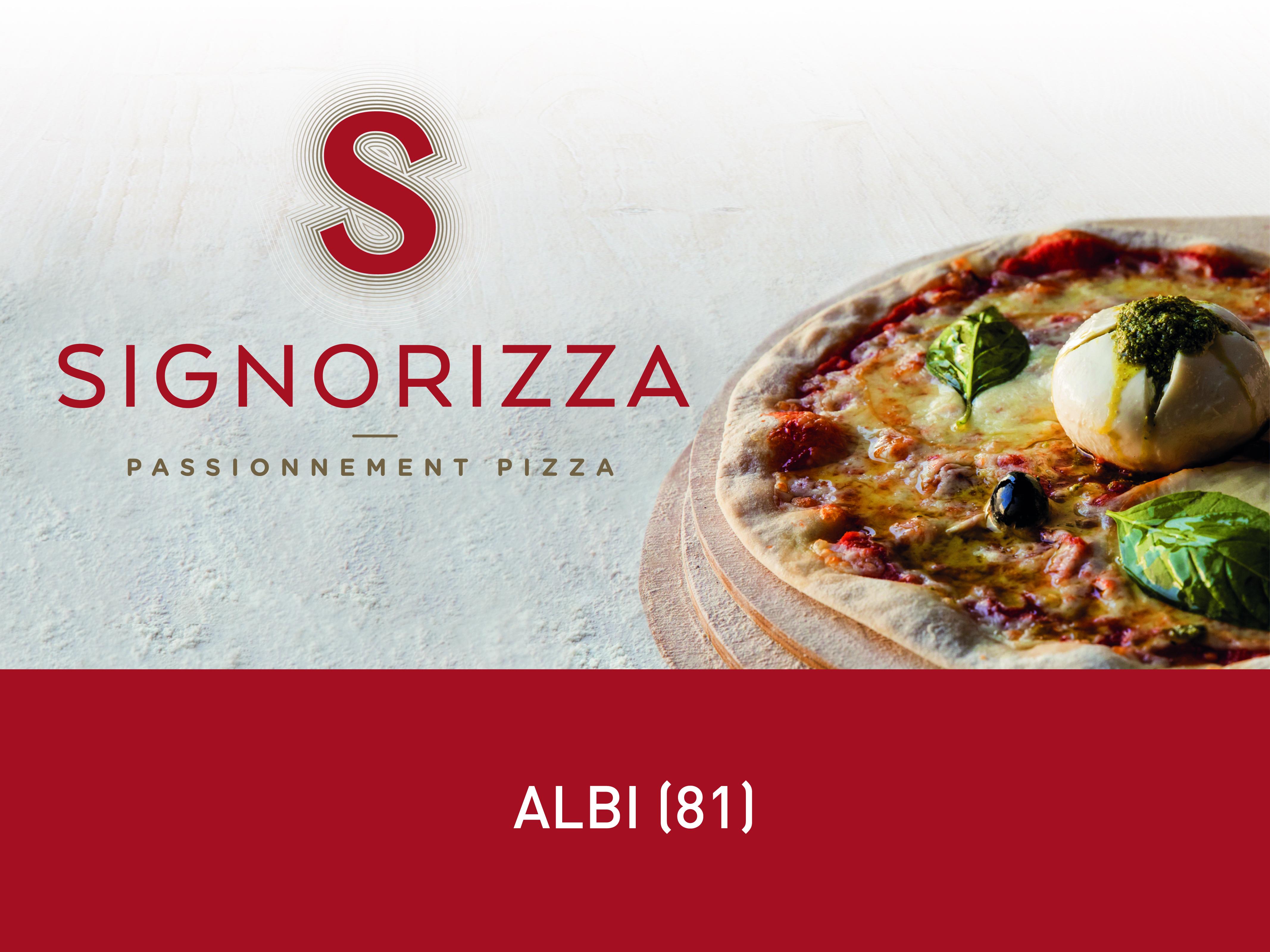 Nos restaurants | Signorizza, passionnément pizza